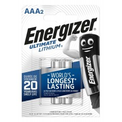 Батарейки Energizer Ultimate Lithium FR03/L92 AAA - 2 шт.